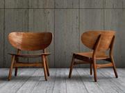 Krzesło Hans Wegner kanapa 3d model