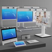 Sistema de videoconferência da Cisco 3d model