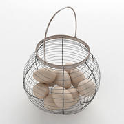 egg basket 3d model