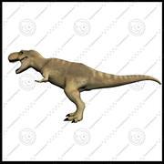 恐龙包装 3d model