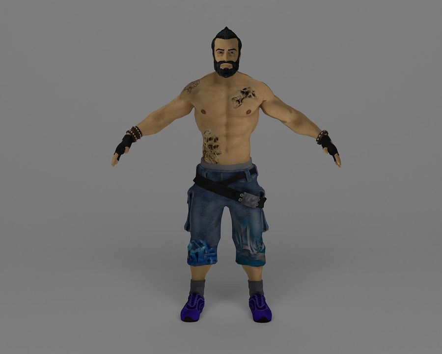111 royalty-free 3d model - Preview no. 2