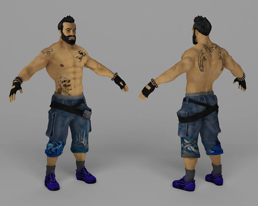 111 royalty-free 3d model - Preview no. 1