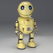 Friendly little Robot, rigged 3d model