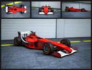 Formule 1 3d model