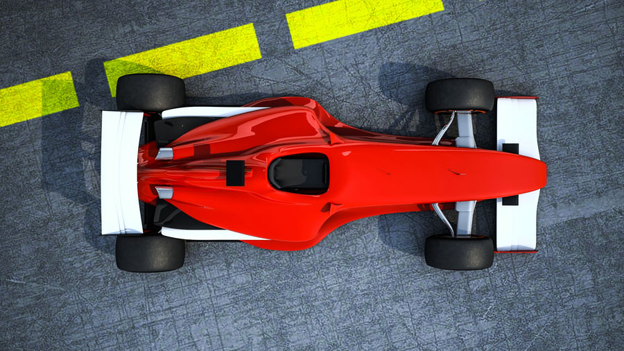 Formel 1 royalty-free 3d model - Preview no. 4