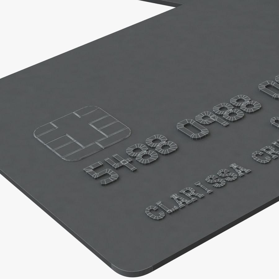 Kredietkaarten royalty-free 3d model - Preview no. 4
