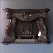 暖炉レクサス 3d model