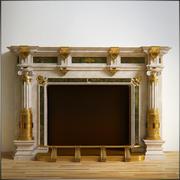 Fireplace Romas 3d model
