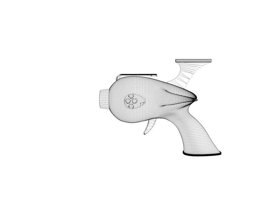射线枪 royalty-free 3d model - Preview no. 7