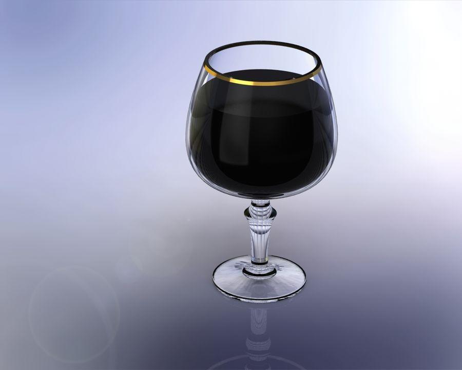 一杯酒 royalty-free 3d model - Preview no. 5