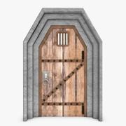 Puerta modelo 3d