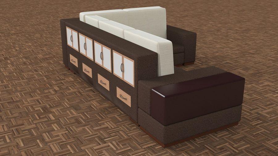 posto a sedere royalty-free 3d model - Preview no. 5