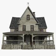 放棄された家 3d model