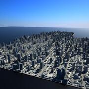Büyük şehir 19 3d model