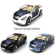 未来汽车收藏 3d model