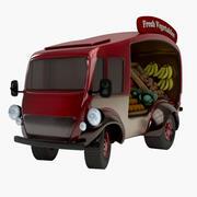 Vegetabilisk skåpbil 3d model