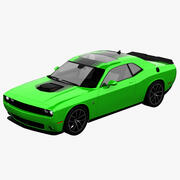 Dodge Challenger R / T mit Scat Pack 3d model