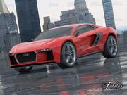 Audi Nanuk + Milieu 3d model