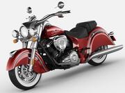 印度首席经典摩托车 3d model