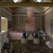 Smid interieur 3d model