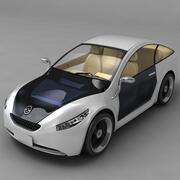 未来の車 3d model