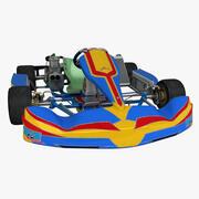 Alonso FA Kart 3d model