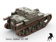 Carro Veloce CV-38 3d model