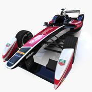 Formule E Mahindra 3d model