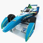 Formule E Trulli 3d model