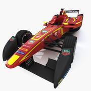 Fórmula E - Equipe China 3d model