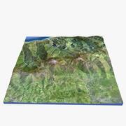 Sicily Terrain 3d model