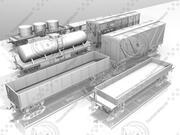 貨車パック 3d model