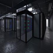 Centrum danych 3d model