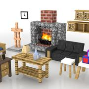 Furniture Pack Minecraft 3d model
