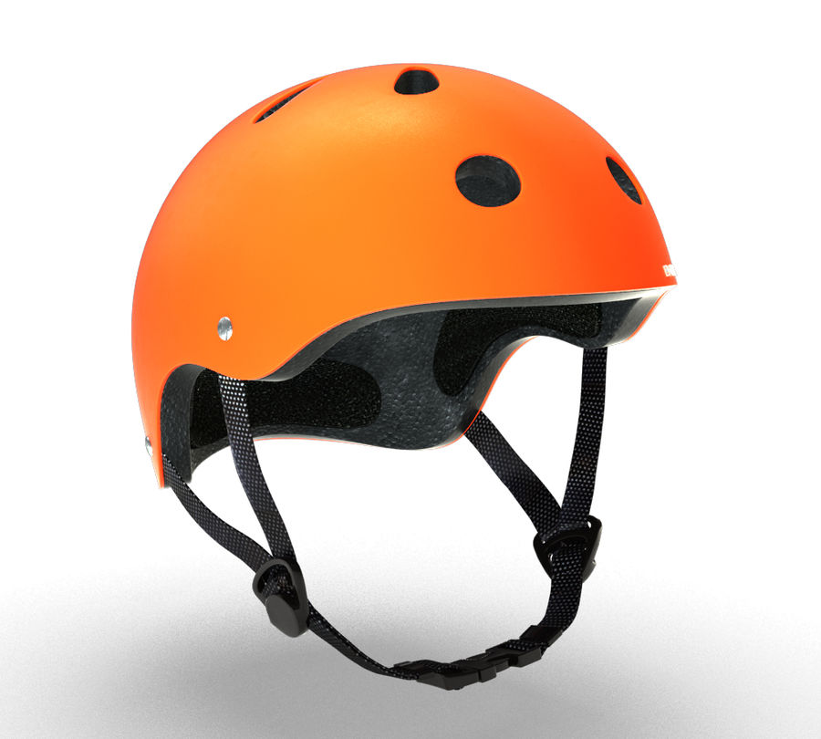 Skate Helmet royalty-free 3d model - Preview no. 10