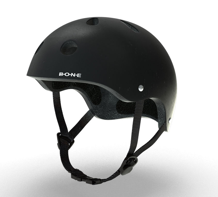 Skate Helmet royalty-free 3d model - Preview no. 5