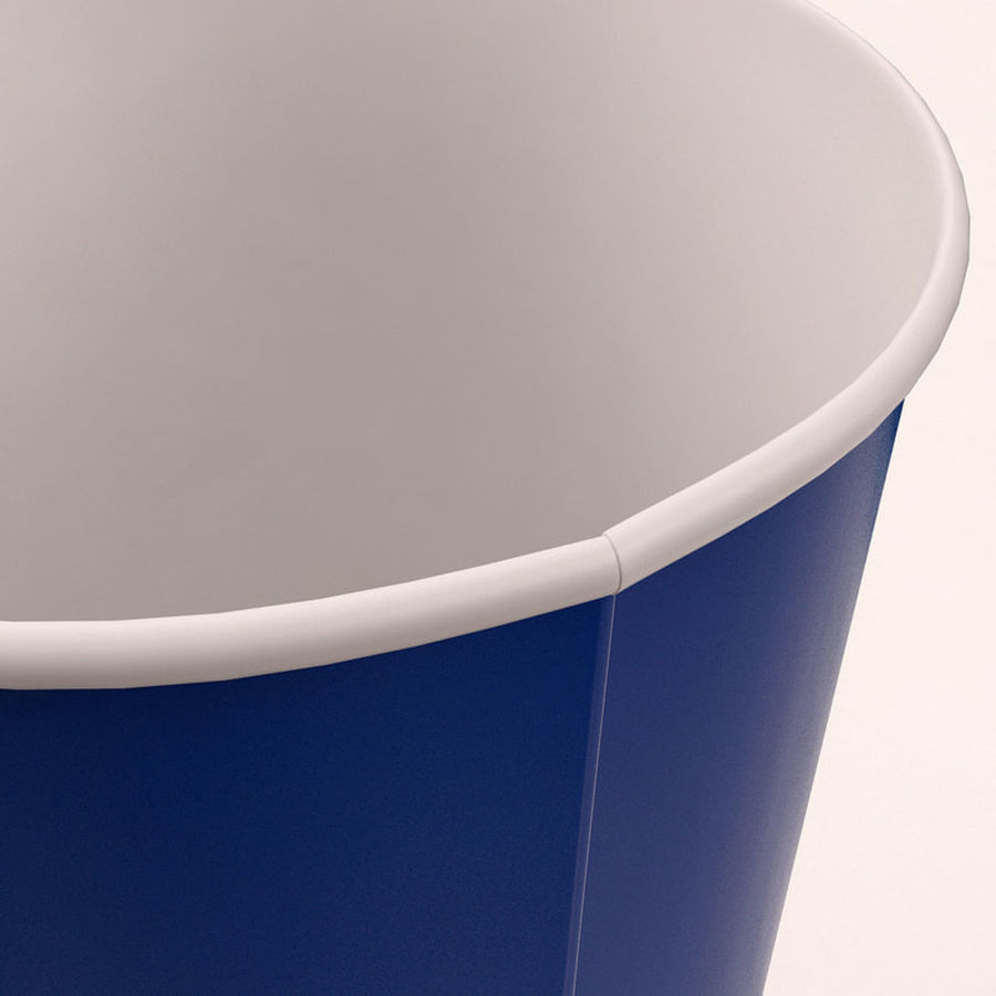 Paper Cup royalty-free 3d model - Preview no. 16