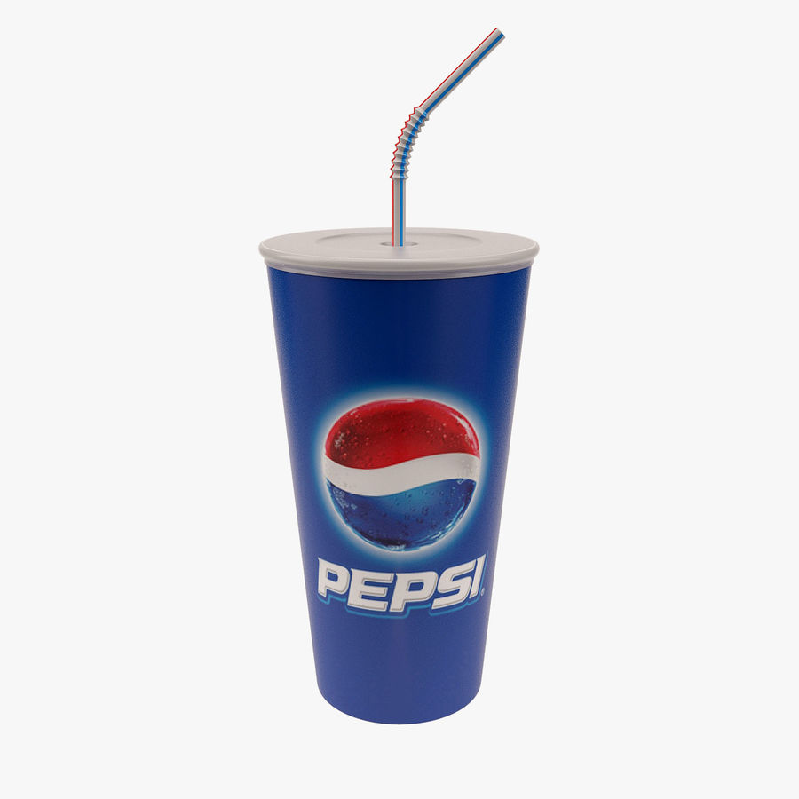Paper Cup royalty-free 3d model - Preview no. 1