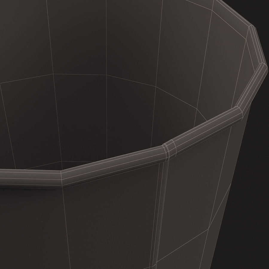 Paper Cup royalty-free 3d model - Preview no. 17