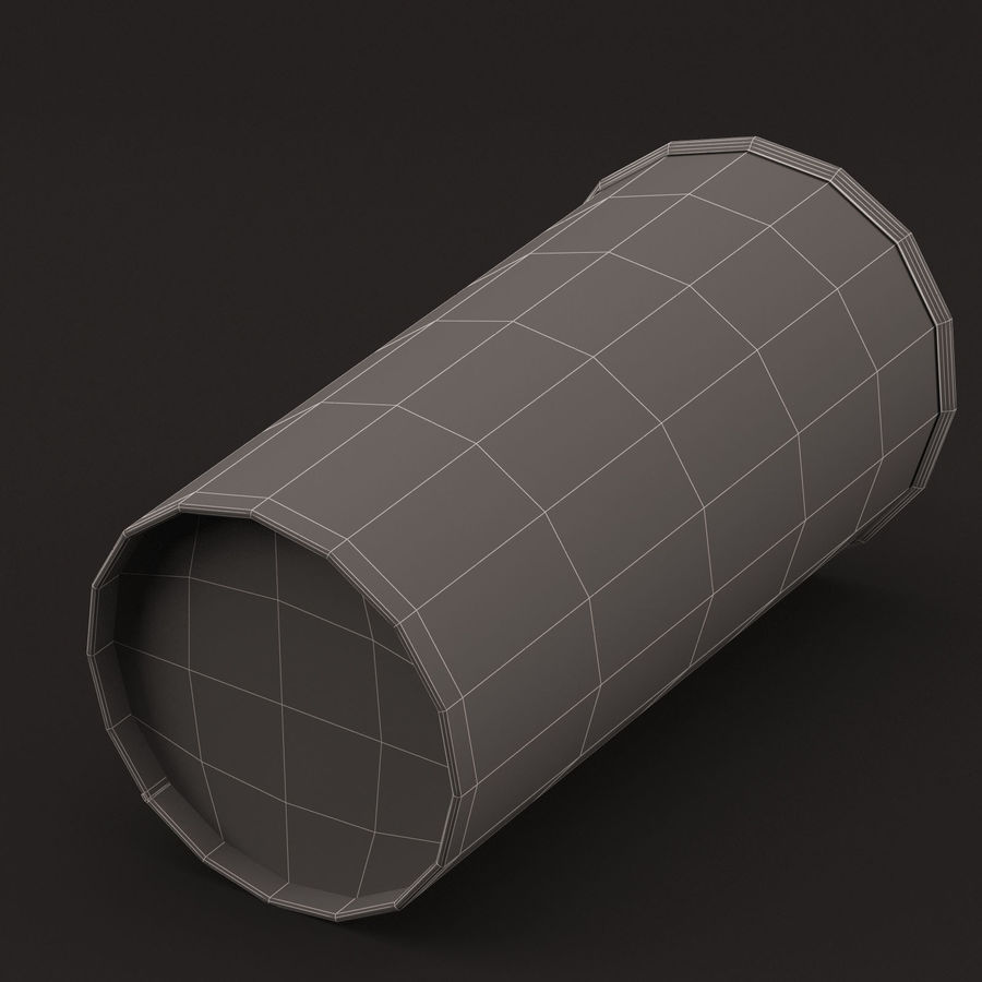 Paper Cup royalty-free 3d model - Preview no. 13