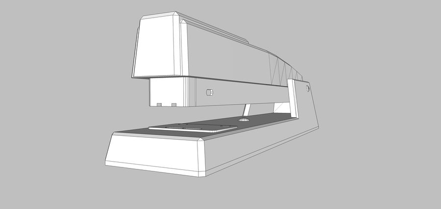 Collezione Mega Office! royalty-free 3d model - Preview no. 129
