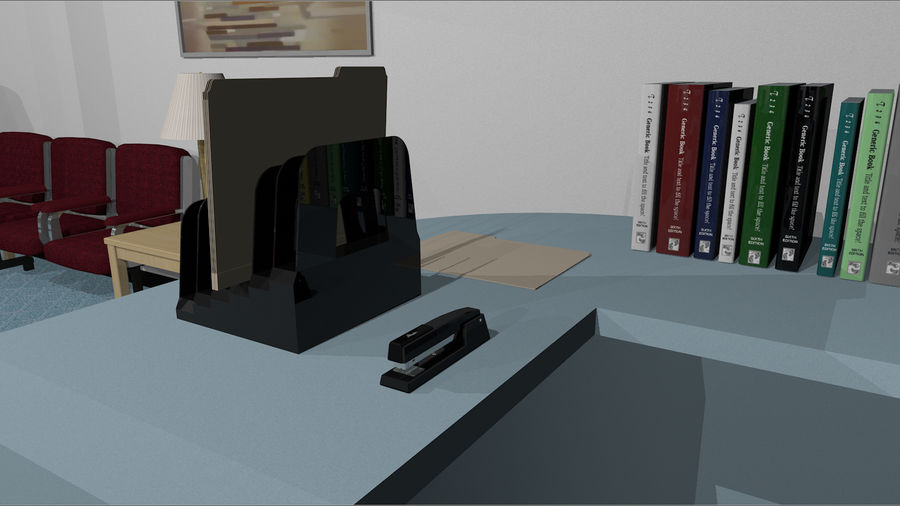 Mega Office Collection! royalty-free 3d model - Preview no. 18
