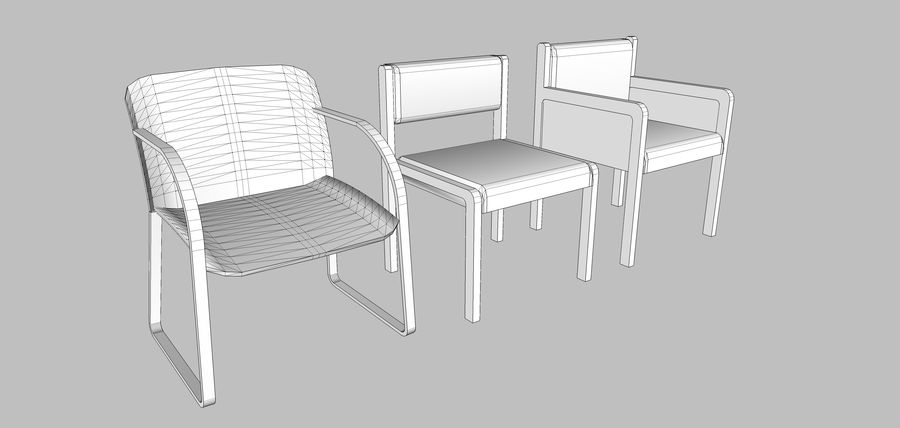 Mega Office Collection! royalty-free 3d model - Preview no. 108