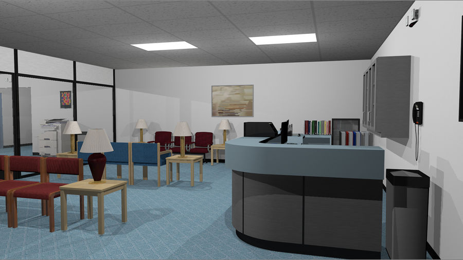 Collezione Mega Office! royalty-free 3d model - Preview no. 2