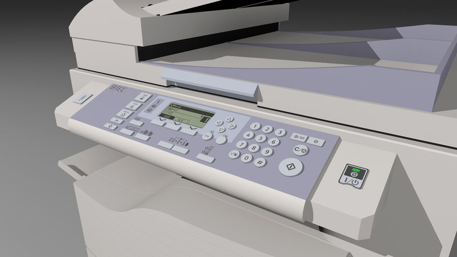 Mega Office Collection! royalty-free 3d model - Preview no. 40