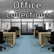 Mega Office Collection! modelo 3d