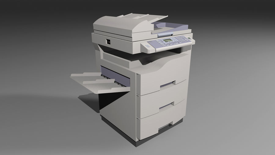 Kolekcja Mega Office! royalty-free 3d model - Preview no. 34