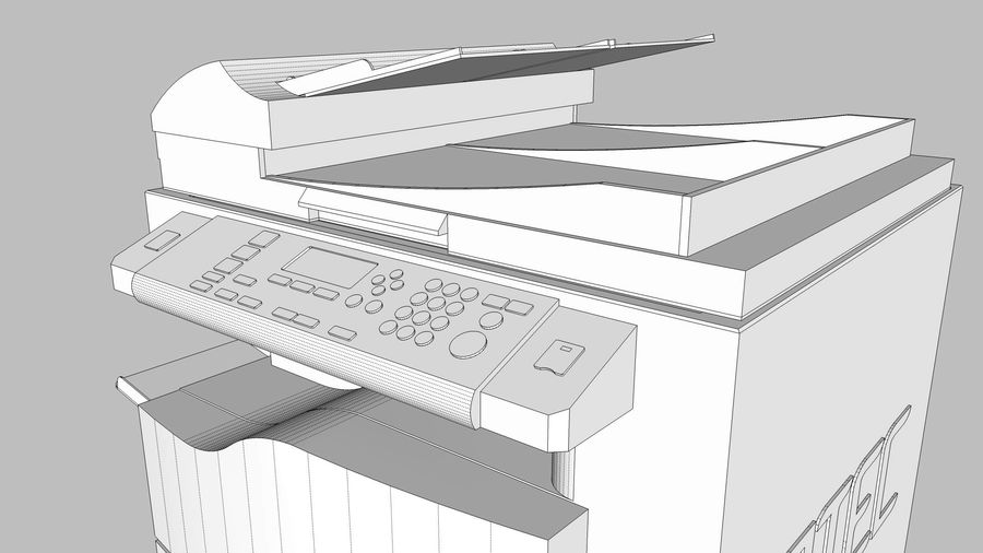 Collezione Mega Office! royalty-free 3d model - Preview no. 118