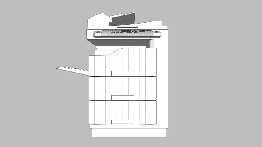 Collezione Mega Office! royalty-free 3d model - Preview no. 113