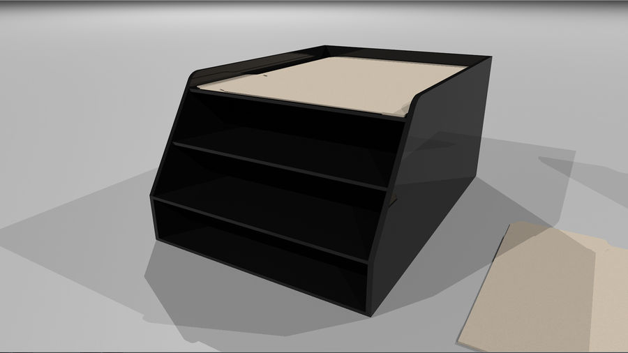Collezione Mega Office! royalty-free 3d model - Preview no. 47